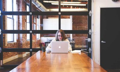 women entrepreneurs working at coworking space