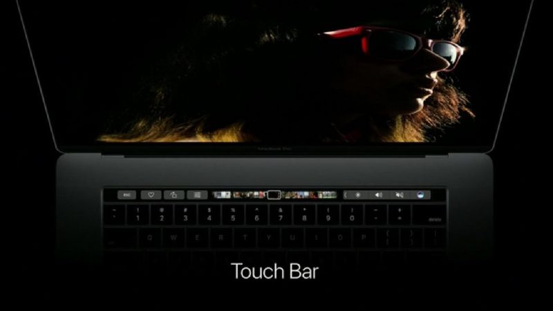 Macbook Touch Bar Apple
