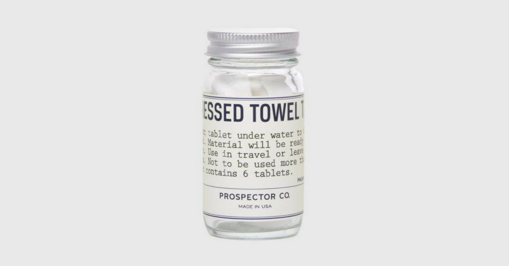 compressed towel tablets