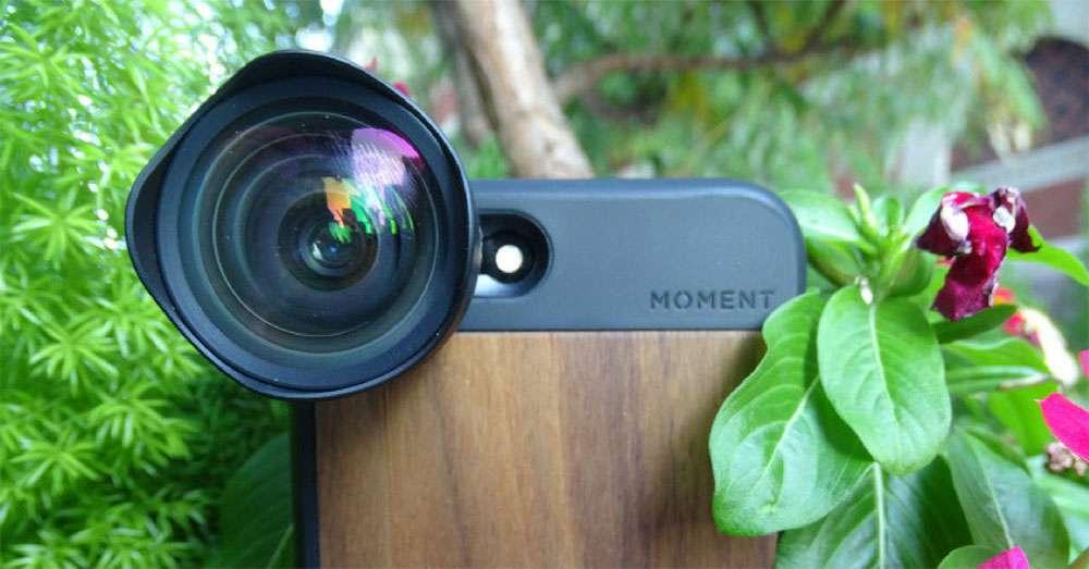 Moment phone lens