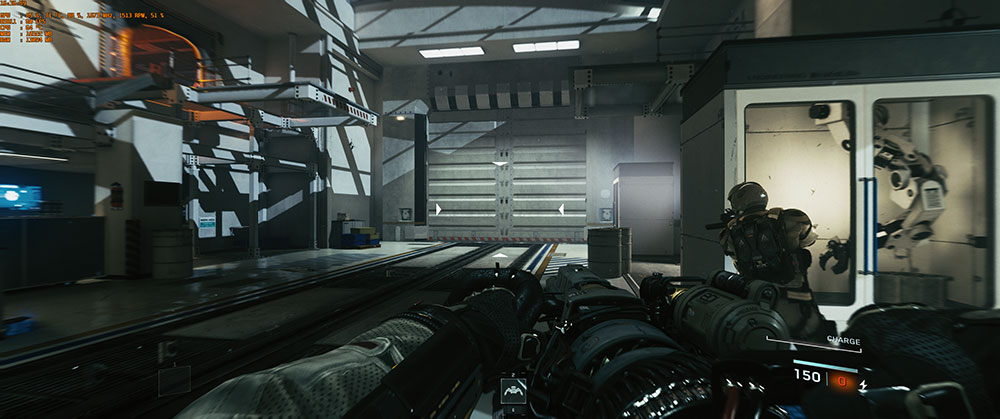 Call of Duty infinity warfare 1080ti test