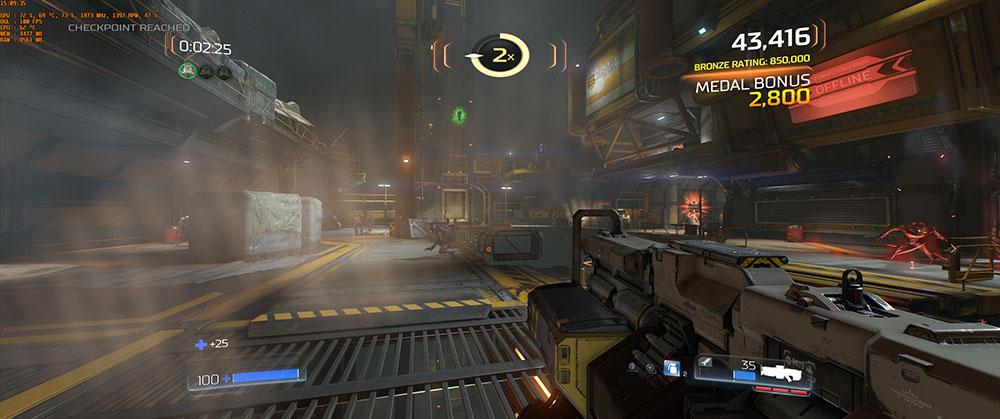 Doom PC gaming test