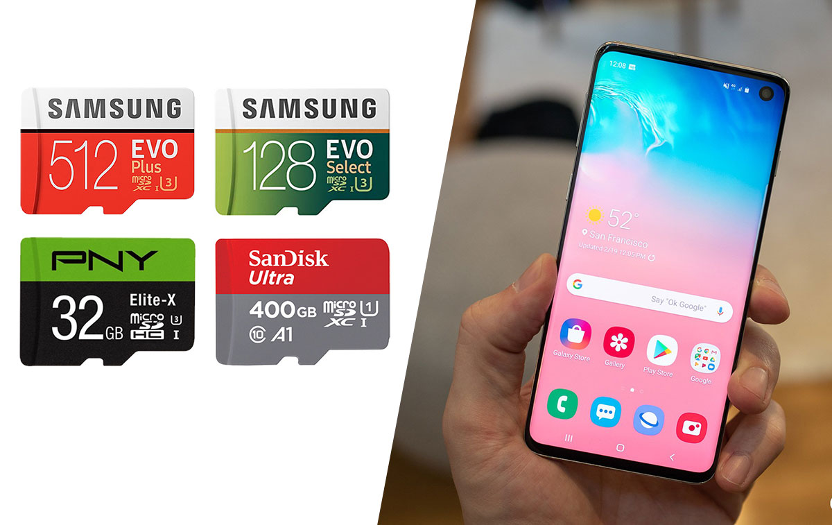 Microsd options for samsung phones